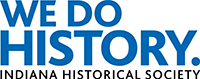 Indiana Historical Society logo.